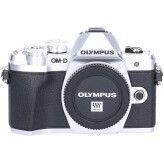 Tweedehands Olympus OM-D E-M10 Mark III Body Zilver Sn.:CM6123