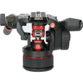 Tweedehands Manfrotto Nitrotech N12 Fluid Video Head CM4085