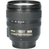 Tweedehands Nikon 18-70mm f/3.5-4.5G ED DX CM0574
