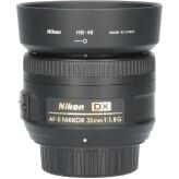 Tweedehands Nikon AF-S 35mm f/1.8G DX CM5348