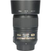 Tweedehands Nikon AF-S 60mm f/2.8G ED Micro CM5346