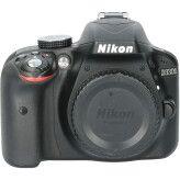 Tweedehands Nikon D3300 body zwart CM9280
