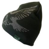 Swarovski Merino Beanie Hat - Groen