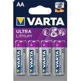 Varta AA Ultra Lithium 4 pak nr.6106
