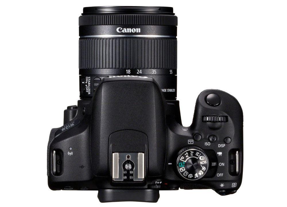 Canon EOS 800D DSLR + 18-55mm f-4.0-5.6 IS STM