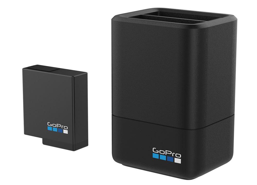 GoPro Dual Battery Charger + Battery voor Hero 5 Black