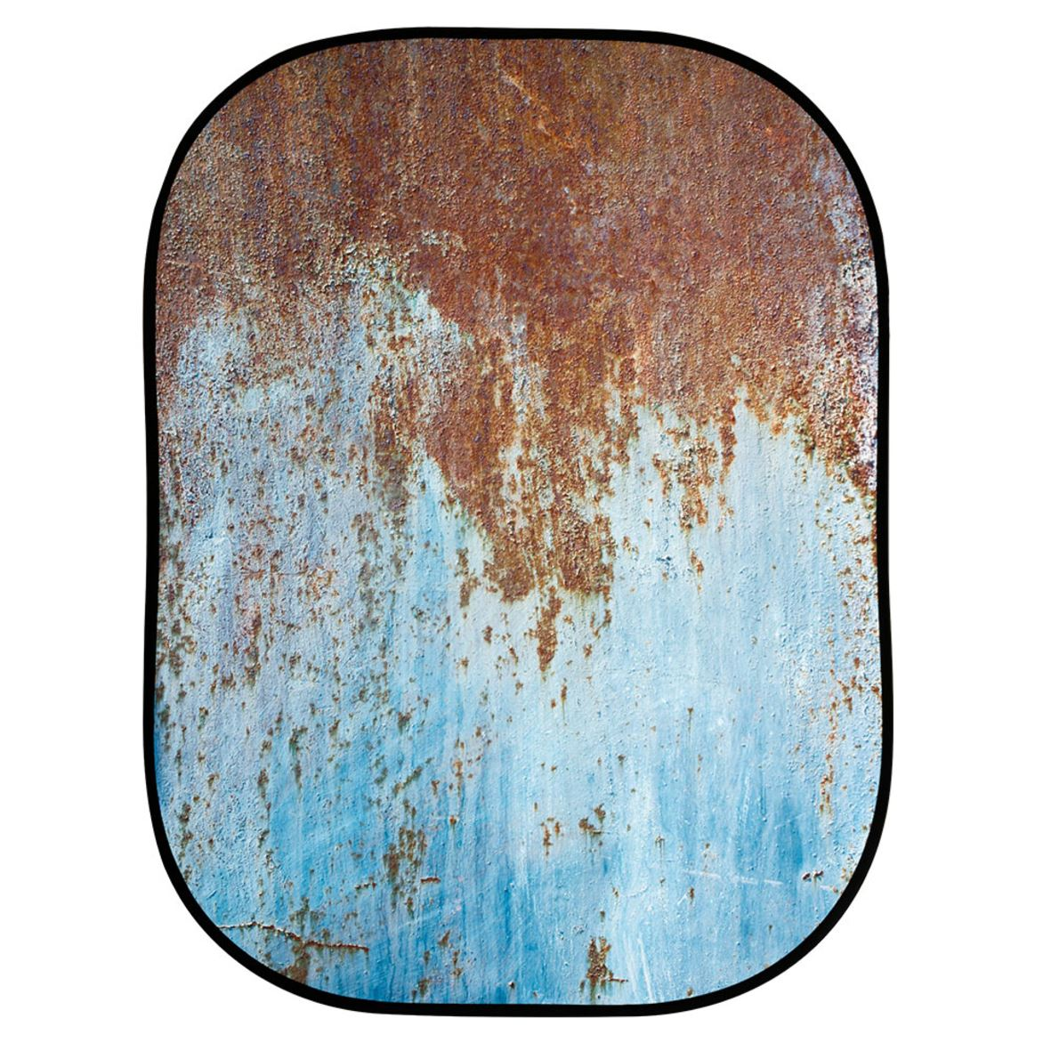 Lastolite Urban Collapsible 150x210cm - Rusty Metal/Plaster Wall