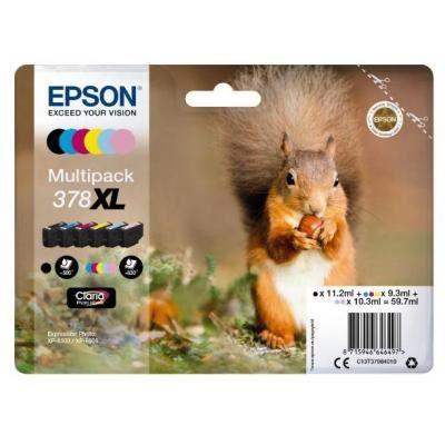 Epson 378XL 6-Multipack Clara Photo HK Eekhoorn T37984010