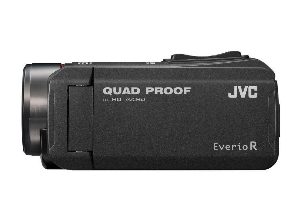 JVC GZ-R405BEU Quadproof Camcorder zwart