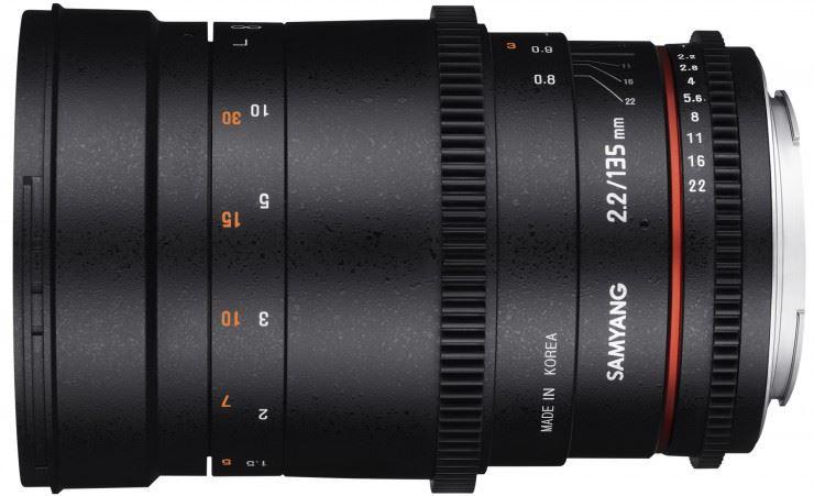Samyang 135mm T2.2 VDSLR Nikon