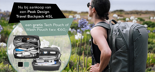 Peak Design Travel Backpack 45L Promotie