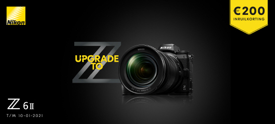 Nikon Z6 II Inruilactie
