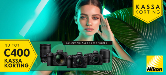 Nikon Z Zomer kassakorting