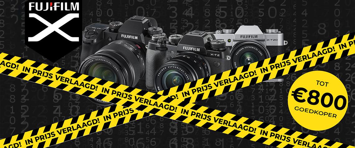 Fujifilm blijvend in prijs verlaagd