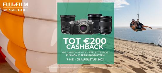 Fujifilm X-Serie Zomer Cashback