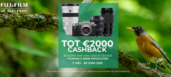 Fujifilm Lente Cashback