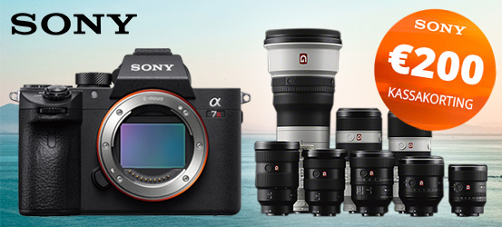 Sony A7R G Master Promotie