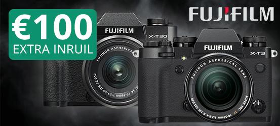Fujifilm 100 euro inruilpremie