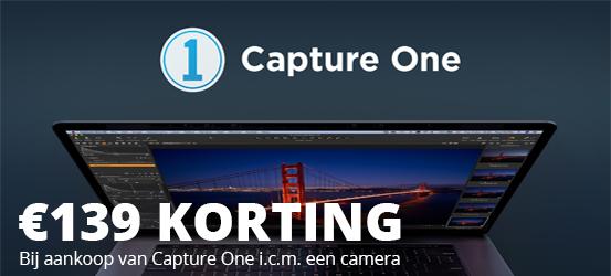139 euro korting op Capture One Pro 20