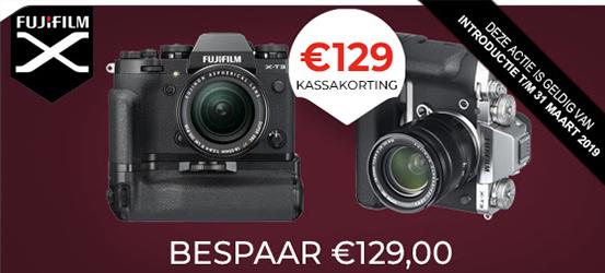 €129,- Korting op een Verticalgrip van Fujifilm