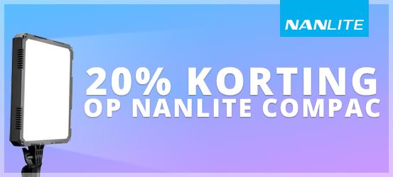 Nanlite Compac Promotie