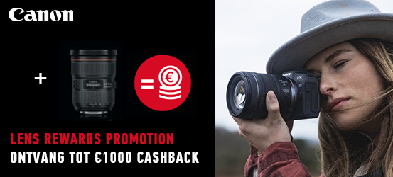 Canon Lens Rewards Promotion