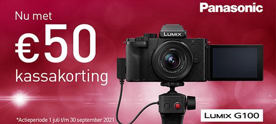 Panasonic Lumix DC-G100 Kassakorting