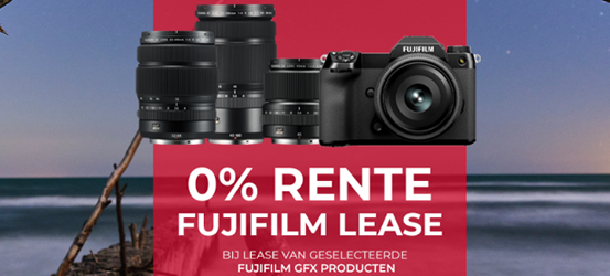 0% Rente bij Lease van GFX apparatuur