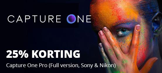 25% korting op Capture One Pro 20