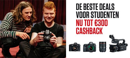 Canon Studenten Cashback