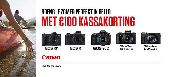Canon €100 Kassakorting