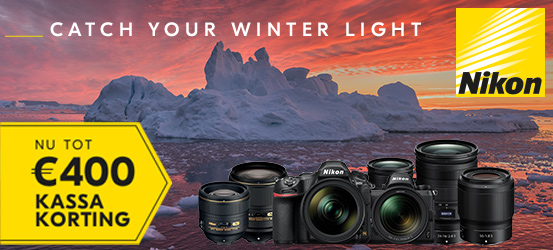Nikon Kassakorting Winter Promotie