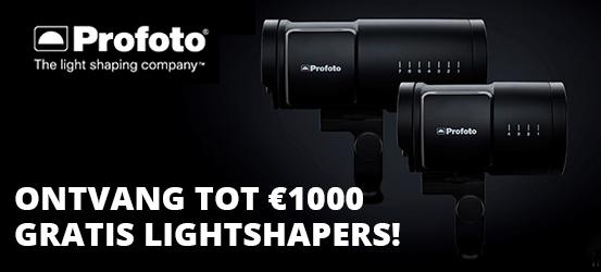 Tot €1000 gratis Lightshapers
