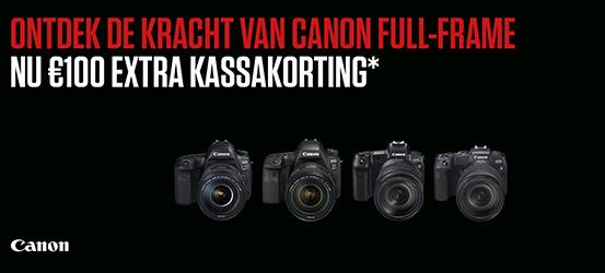 Canon EOS Full-Frame kassakorting