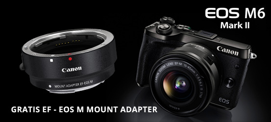 Gratis Canon EF - EOS M Adapter