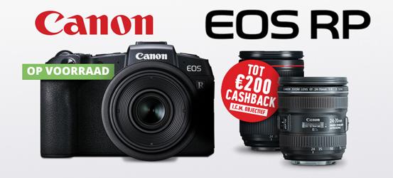 Canon EOS RP Virtual Kit promotie