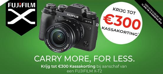 Fujifilm X-T2 Kassakorting