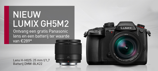 Panasonic Lumix GH5 Mark II Promotie