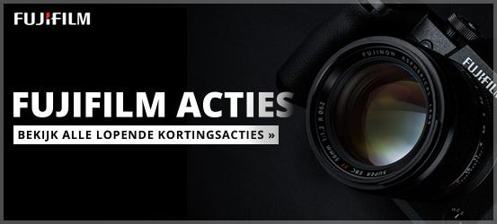 Bekijk alle Fujifilm voordeel acties!
