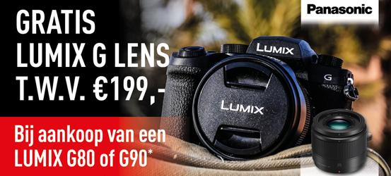 Panasonic gratis LUMIX G lens