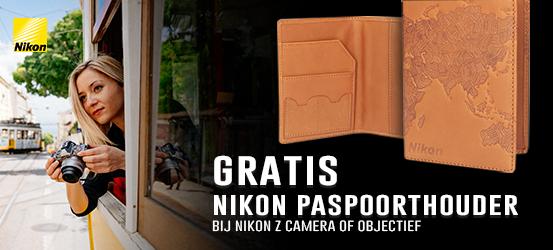 Gratis Nikon Z paspoorthouder