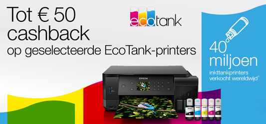 Epson EcoTank cashback
