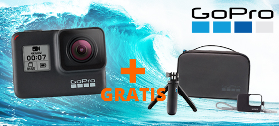 Gopro Hero 7 gratis travel kit
