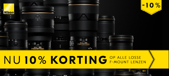 Nikon F-mount promotie