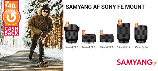 Samyang Winter Cashback