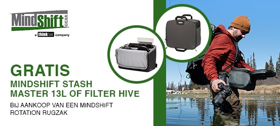 Gratis Mindshift Stash Master of Filter Hive