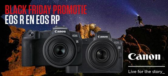 Canon EOS R & RP Promotie