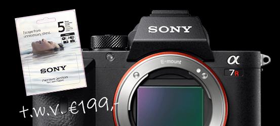 Bij Sony A7R IV Pre Order gratis DIBOXCC5 twv 199,-