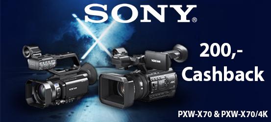 Sony Cashback PXW-X70