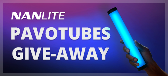 Nanlite Pavotubes give-away actie
